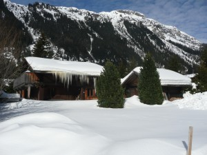 Chalet Santé in winter